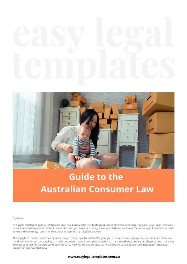 Australian Consumer Law Guide