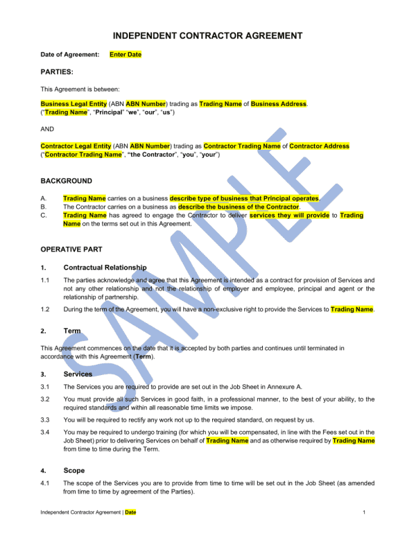 Independent-contractor-agreement-sample-01