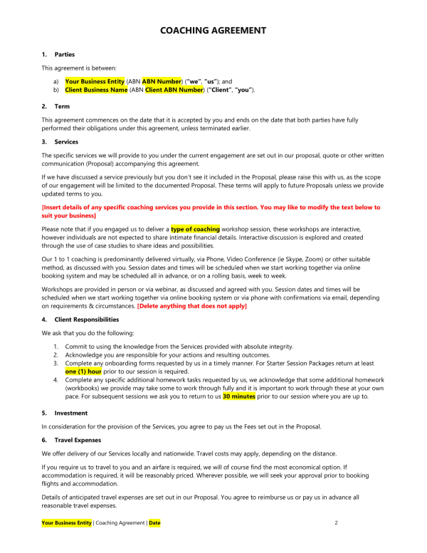 coaching-agreement-sample
