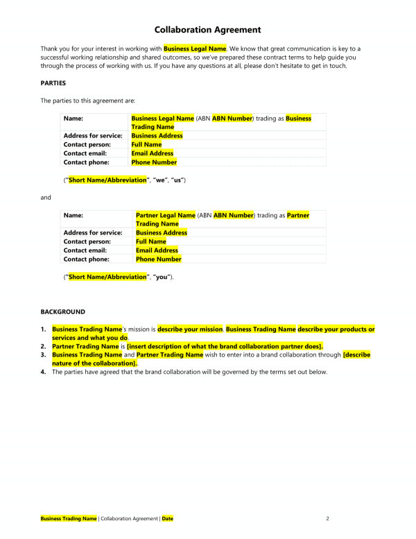 collaboration-agreement-template-sample1