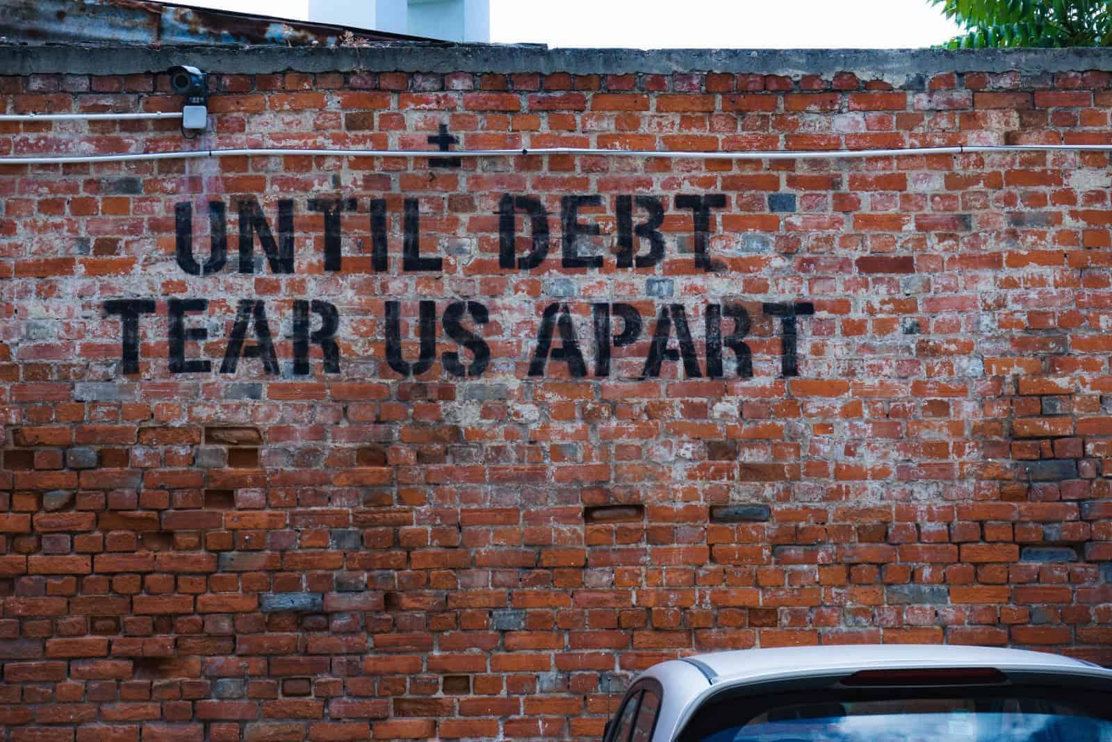 letter of demand debt graffiti