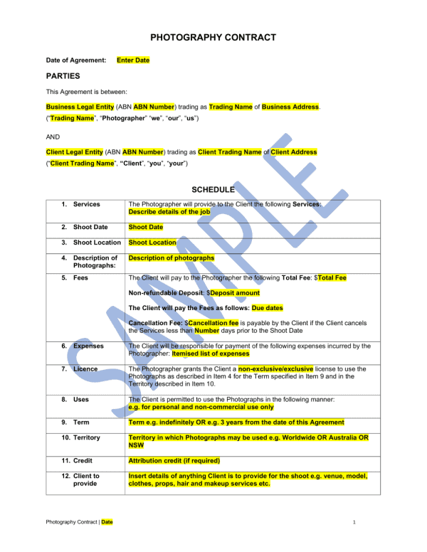 photography-contract-template-1