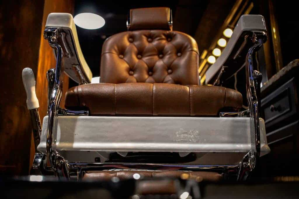 brown barber's chair-rent-chair